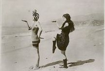 ♡Bathing Beauties♡ / #Vintageswimming #swimwear #beachfun #playinginwater / by Lauren Guttentag