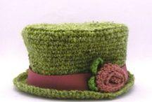 Gorros ganchillo/Crochet  / Gorros de lana / by Yoly Nosti