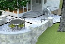 Outdoor Living / Outdoor Kitchens, Fire Features and Patios.