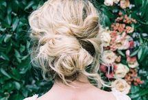 Wowing Weddinglook / Hairstyle and wedding dress