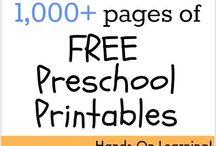 Preschool/Early Childhood / Where a kid can be a kid! :)