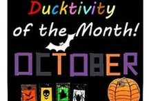 Halloween Ideas / Things you can make with Duck Colours with Halloween in mind