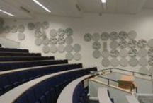Acoustic GRG - Projects / Acoustic panels.  Projects featuring products from Acoustic GRG