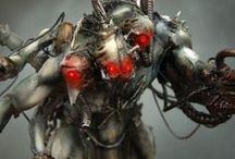 Dark Side of Warhammer / Miniatures from Ex Profundis