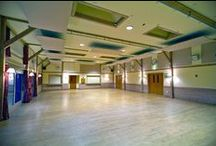 Edgerton Village Hall Project / RPG Absorbers suspended from the ceiling and wall mounted at this village hall. #acoustics #rpg #absorbers #design #hall
