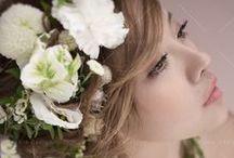 夢幻花漾_Floral designs / #Weddings #Weddingsphotography #Hairstyle http://molding.wswed.com/molding_home/hair.html