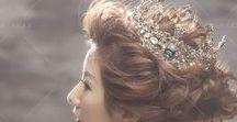 奢華皇冠_Head crown / #bridalfashion #bridalstyle #Bride #bridesecretary #crown #hairaccessories #molding #weddingmolding #新娘秘書 #新娘造型 #皇冠 https://molding.wswed.com/fitting/crown.html