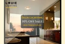 Louie Lighting Promos! / Ongoing promotional deals to light up your life! Click the link in the pin to be brought to the brand page and shop!