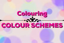 Colouring | Colour schemes / Lots of inspiration for colours to use in your colouring books!