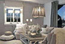 Decor - Greys and Chrome / Color Collages and Ideas for Home Decor