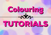 Colouring | Tutorials / Lots of helpful colouring tutorials from my YouTube channel!