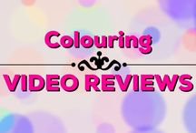 Colouring | Video Reviews / Video reviews of loads of adult colouring books