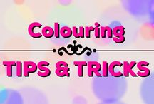 Colouring | Tips & Tricks / Awesome tips & tricks to make your colouring skills on point ;)