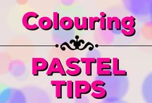 Colouring | Pastel Tips / Pastel tips for adult colouring