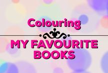 My Favourite Colouring Books / My favourite adult colouring books