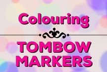 Colouring | Tombow Markers / Tips, tricks & tutorials for colouring with Tombow Markers in your adult colouring books & projects
