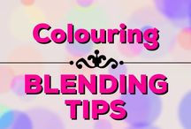 Colouring | Blending Tips / Learn how to blend in your adult colouring books & projects!