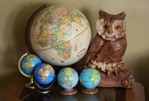 Globes / by Vicky Stanton