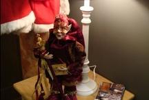 Christmas time... fairy time... / When it is cold in winter, bring cosiness and warmth in your house.  Make a real home....  Kerst tijd is een feeërieke tijd.  Thuis is het gezellig en warm, mooi gedecoreerd.  Laat het buiten maar even koud zijn.... wij genieten van ons huisje.