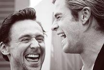 Celebs (mostly hiddleston)  / by Kenni T.