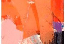 :: Orange :: / Apricot  Cantaloupe  Carrot  Coral  Tangerine  Orange  Ginger  Peach  Design ideas  Decor  Interior design  Palette  Mood board  Inspiration  Color scheme