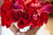 :: Red Weddings :: / Red  White  Black  Ceremony  Tablescapes  Ideas  Wedding  Dresses  Jewelry  Hair  Palette  Flowers  Favors  Cakes