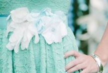 :: Aquamarine Weddings :: / Wedding  Ideas  Inspiration  Flowers  Dresses  Hair  Invitations  Aqua  Aquamarine  Seafoam  Turquoise  Ceremony  Tablescapes  Ideas  Jewelry  Palette  Favors  Cakes