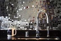 :: Mirrors :: / Mirror  Mirrored furniture  Mirror walls  Reflective  Shiny  Design ideas  Decor  Interior design  Palette  Mood board  Inspiration  Color scheme