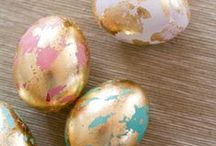 :: Easter :: / Easter  Spring  Holiday  Celebrate  Eggs  Food  Yellow  Craft  DIY  Flowers