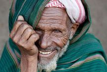 Faces of our world / Inspiring us to travel and meet all walks if life