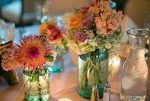 Mason Jar Floral / Centerpieces