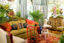Exotic color and spaces / Spicy themes