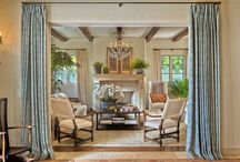 Beautiful mixes- texture/ color/ ethnic touches / Comfortable rooms