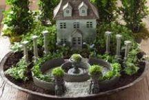 Fairy things - Tündérkertek / Fairy gardens, miniature gardens - tündérkertek, minikertek hozzávalói