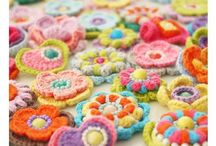 Crochet - flowers and hearts