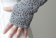 Crochet - hats and gloves