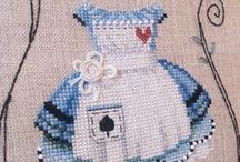 Be creative with needlework : cross- and other stitches. / Things i wanted to do on a free moment....