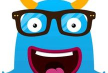 That's Label Monster / Label Monster is a very distinguished character. It has his own style! Check it our here.
