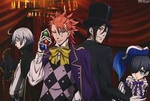 Black butler / My name's Ciel Phantomhive,I'm the Queen's Watchdog.My place is in the shadows your in the light,you should keep your distance from me If you want to live...