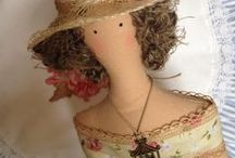 Be creative : Tilda and other dolls / Dolls, dolls and more dolls.... i love to make some of them ç