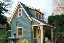 MINI Häuschen - Klein, aber mein / Kleine Häuser, Gartenhäuser, Wohnmobile, transportable Häuser, Häuschen, Gartenlaube, Gartenpavillion