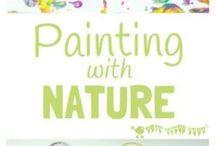 Doğal Materyaller ile Sanat