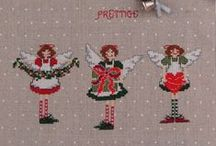 Be creative x-mas crosstich / Cross- and other stiches for the end of the year.