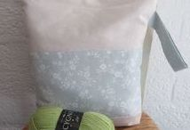 Project bags / Project bags - knitting bags - crochet bags