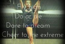 Cheerleading<3 / Because I love cheer. / by Samantha Evens