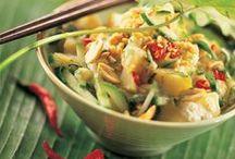 #Saladas com Batata / Saladas com batatas. Veja todas as receitas no nosso site: www.batatasdefranca.com