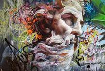 Vandalism by Spraycan / The best art isn't contracted. graffiti + street art
