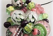 My lampwork beads 2014-2018 / My handmade lampwork beads