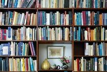 Shelves That Inspire / Bookcases, historic collections and book decorating tricks that have caught our eye.