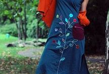 Nepal handmade dresses / http://www.ucca.ro/rochii-fuste-colorate-bumbac